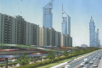 Dubai Metro Line Concept